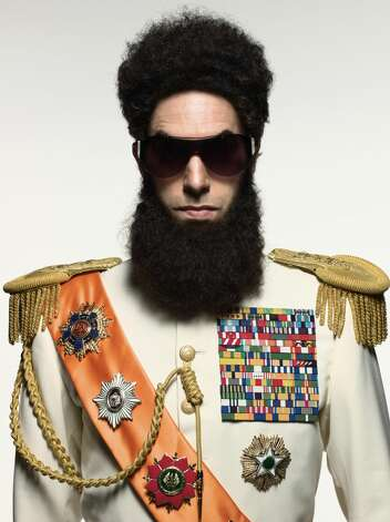 "Sascha Baron Cohen star in ""The Dictator,"" which will hit theaters May 16. Photo: Provided"