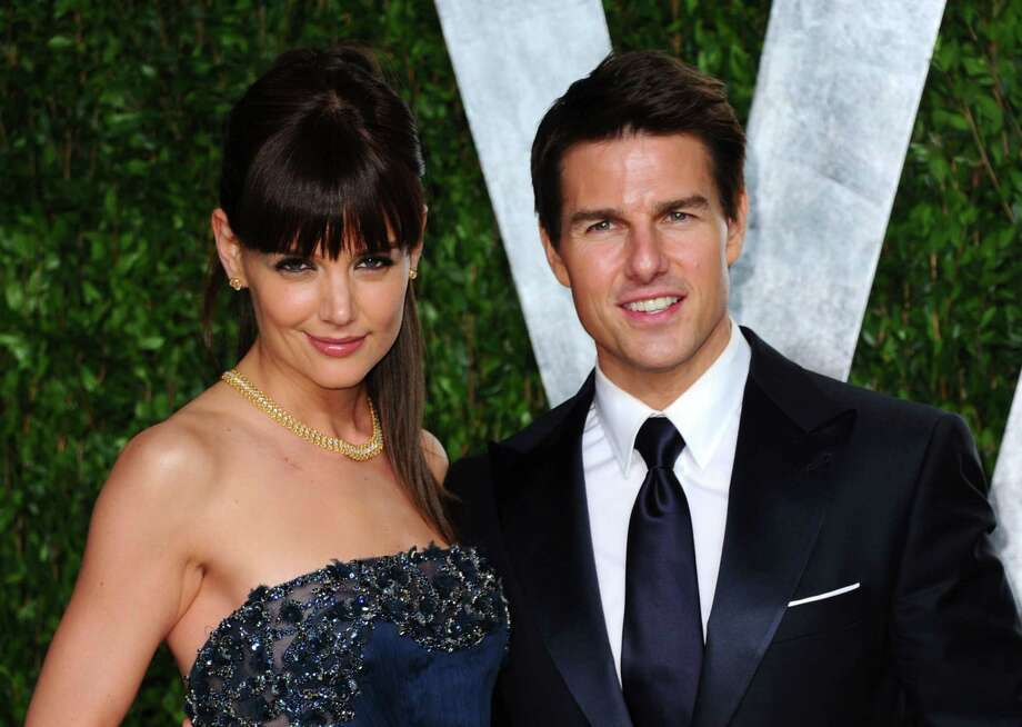 Katie Holmes and Tom Cruise. Photo: Alberto E. Rodriguez, Getty Images / 2012 Getty Images