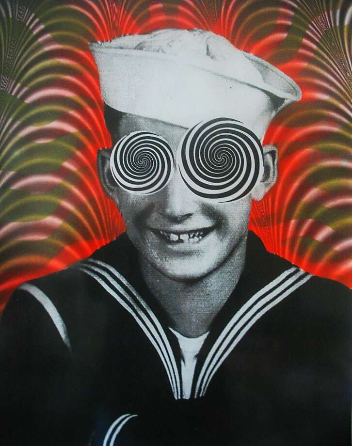 Tami Demaree's surreal sailor is inspired by a legendary World War II experiment involving an invisible battleship. Photo: Tami Demaree