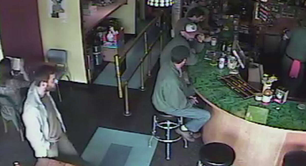 Police released this photo showing the man suspected of shooting five people Wednesday at Café Racer in northeast Seattle. He is also suspected of killing a woman outside of Town Hall in downtown Seattle.