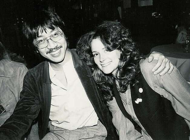 ben Fong-Torres and Kathi Kamen Goldmark in the 70s Photo: Courtesy Ben Fong Torres