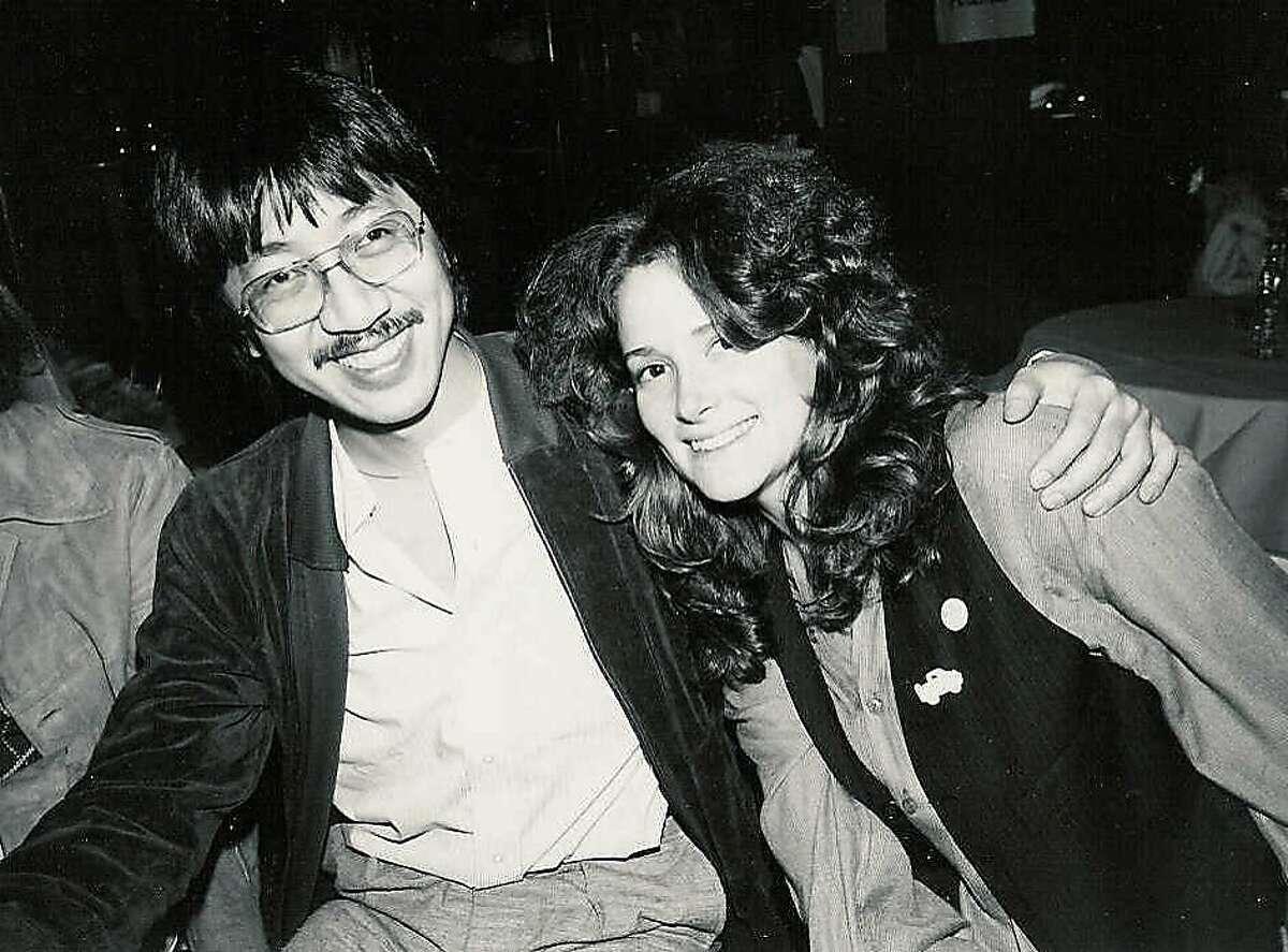 ben Fong-Torres and Kathi Kamen Goldmark in the 70s