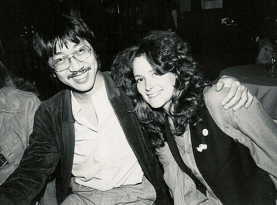 Ben Fong-Torres and Kathi Kamen Goldmark, in the 1970s, above, were good friends until her death recently. Photo: Courtesy Ben Fong Torres