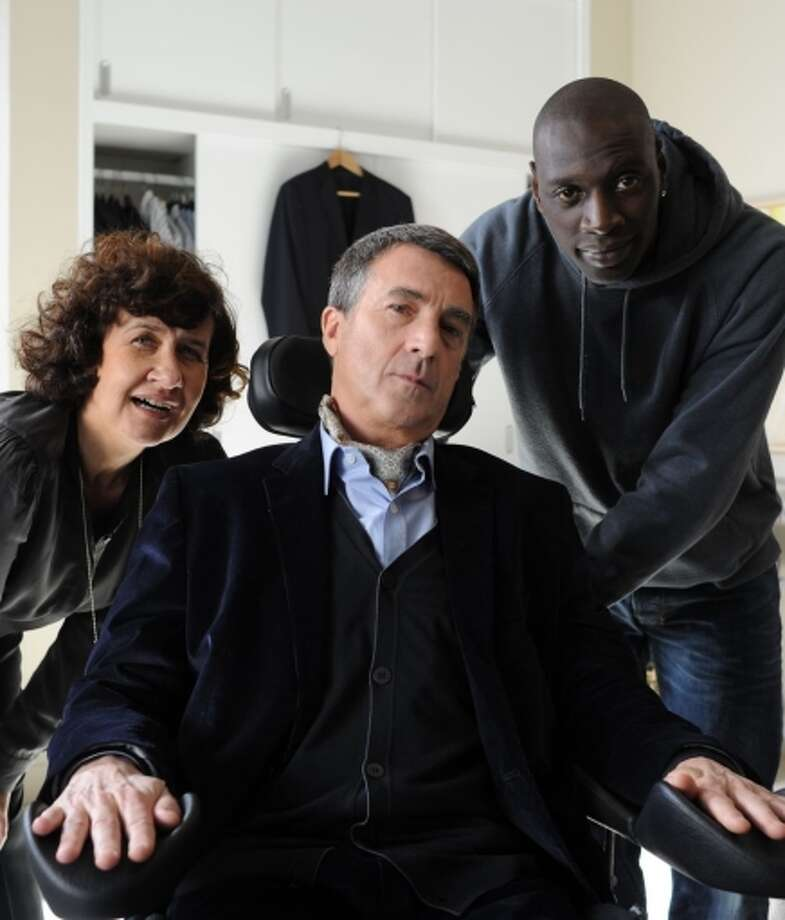 "The ""Intouchables"" (with Anne Le, Francois Cluzet and Omar Sy) was box office gold. Photo: Thierry Valletoux, HOEP / Associated Press / The Weinstein Company"