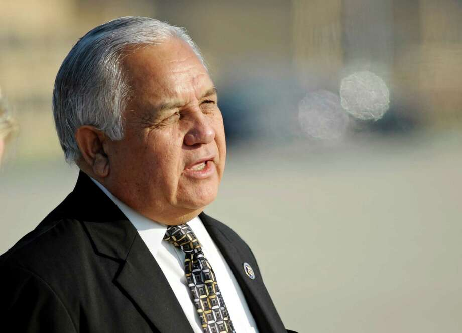 Longtime U.S. Rep. Silvestre Reyes, D-El Paso, tried to keep his congressional seat by attacking 39-year-old challenger Beto O'Rourke. The strategy failed. Photo: Cliff Owen / AP2010