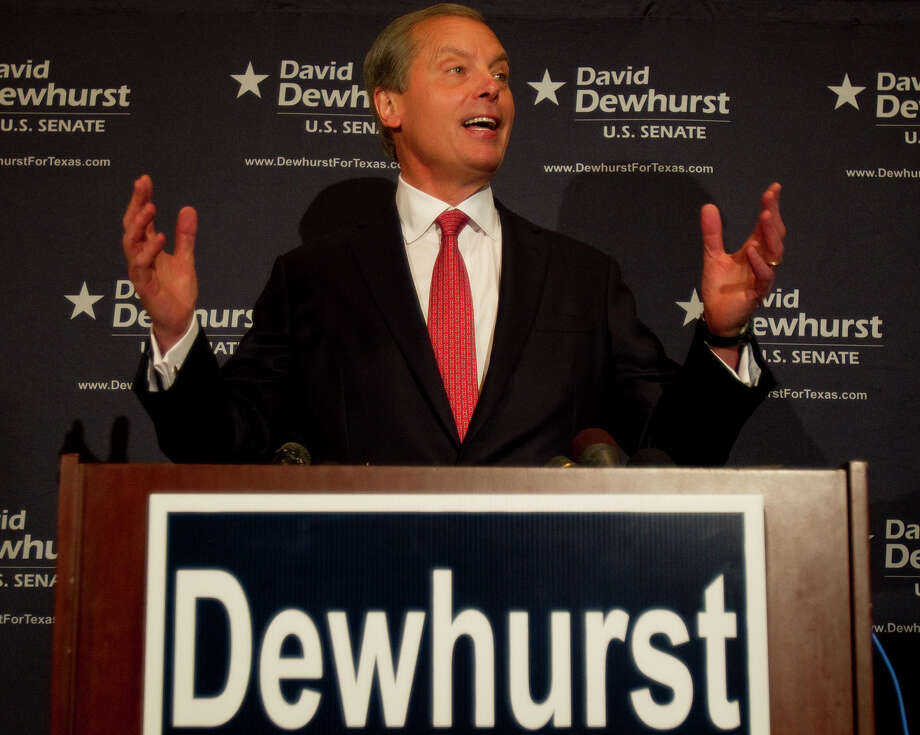 """Lt. Gov. David Dewhurst says he is """"the only proven conservative"""" in the GOP race for senator. Photo: Cody Duty / © 2011 Houston Chronicle"""