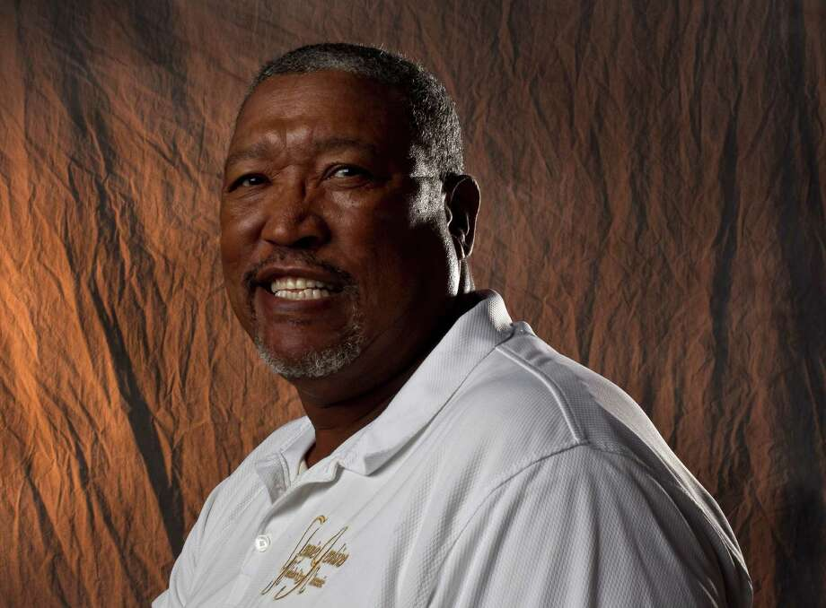 J.R. Richard, former Astros pitcher photographed in the Houston Chronicle studio, Wednesday, May 30, 2012, in Houston. Photo: Karen Warren / © 2012  Houston Chronicle