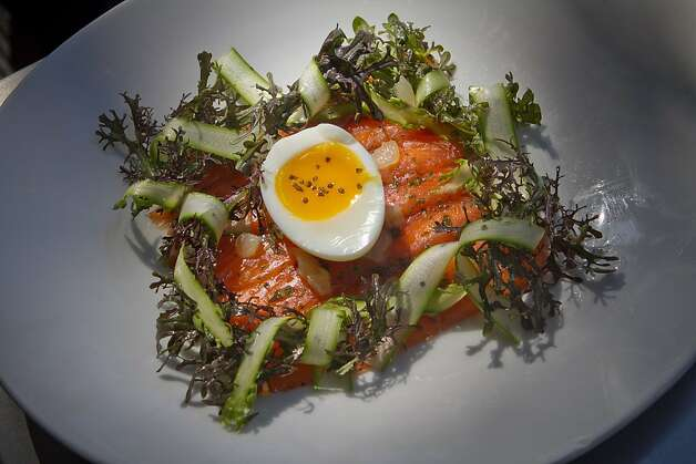 The Smoked Salmon appetizer at Corners Tavern in Walnut Creek, Calif., is seen on Saturday, May 19th, 2012. Photo: John Storey