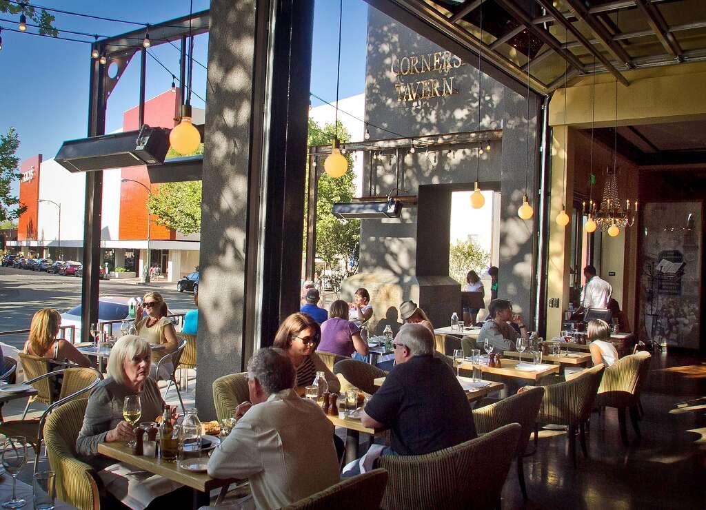 People Enjoy Dinner At Corners Tavern In Walnut Creek Calif On Saay
