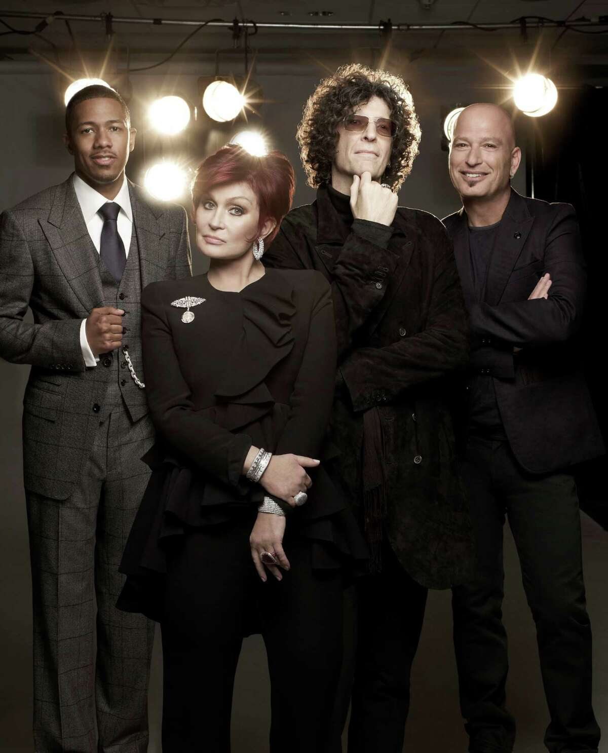 AMERICA'S GOT TALENT -- Season 7 -- Pictured: (l-r) Nick Cannon, Sharon Osbourne, Howard Stern, Howie Mandel --