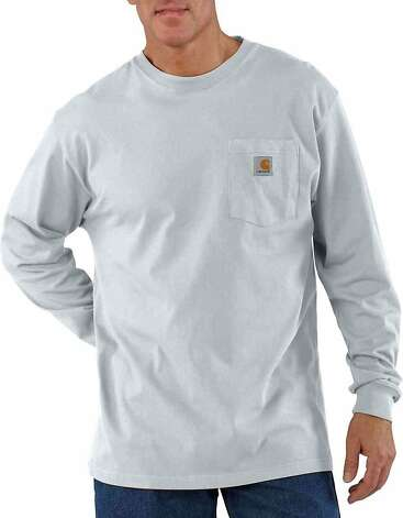 Gear up for Father's Day: Carhartt's 100 percent long-sleeve T-shirt. Photo: Courtesy BareBones WorkWear