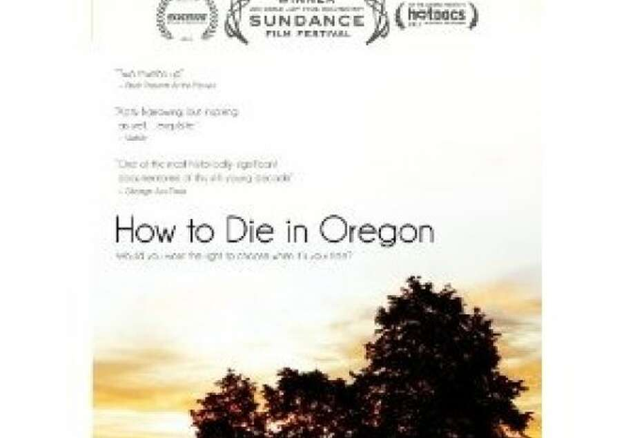 dvd cover HOW TO DIE  IN OREGON Photo: Docudrama