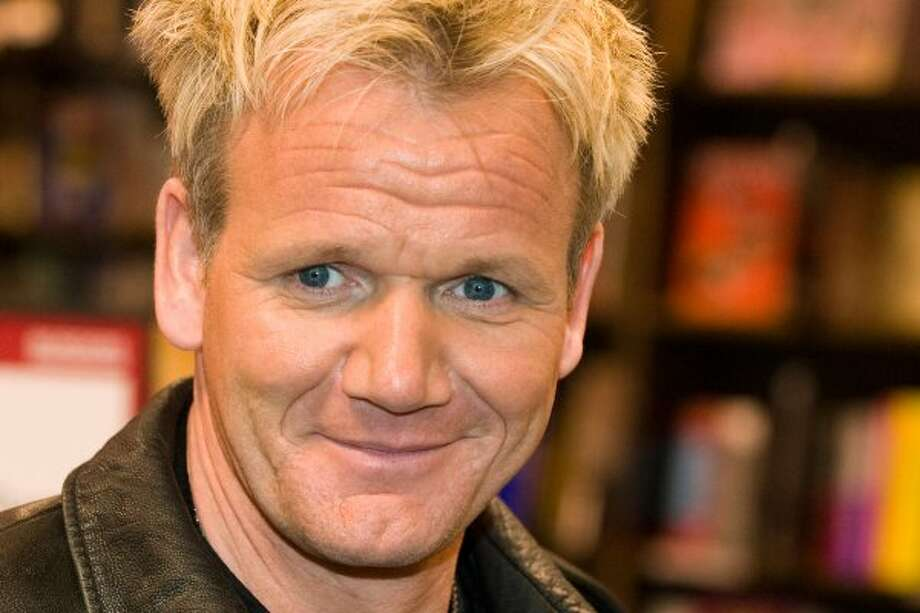 GORDON: Celebrity chef Gordon Ramsay at a book-signing in 2009 in New York City. (Charles Sykes / AP)