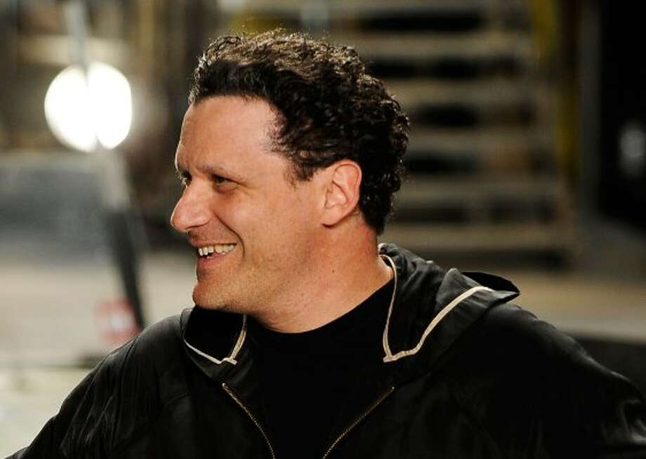 ISAAC: Fashion designer Isaac Mizrahi on the runway at Bryant Park on Sept. 17, 2009,  in New York, New York. (Frazer Harrison / Getty Images for IMG)