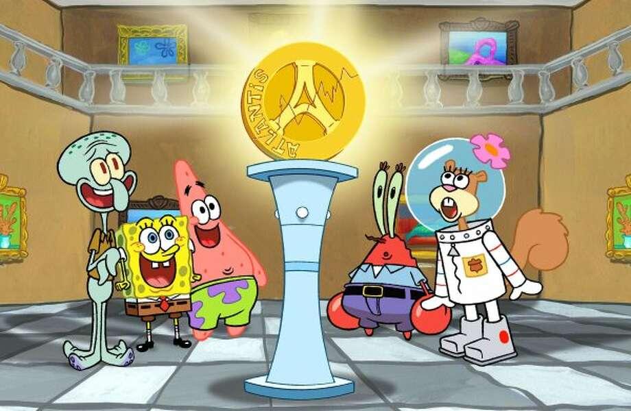 "Two hours of ""Spongebob Squarepants,"" 4 p.m. on Nickelodeon."