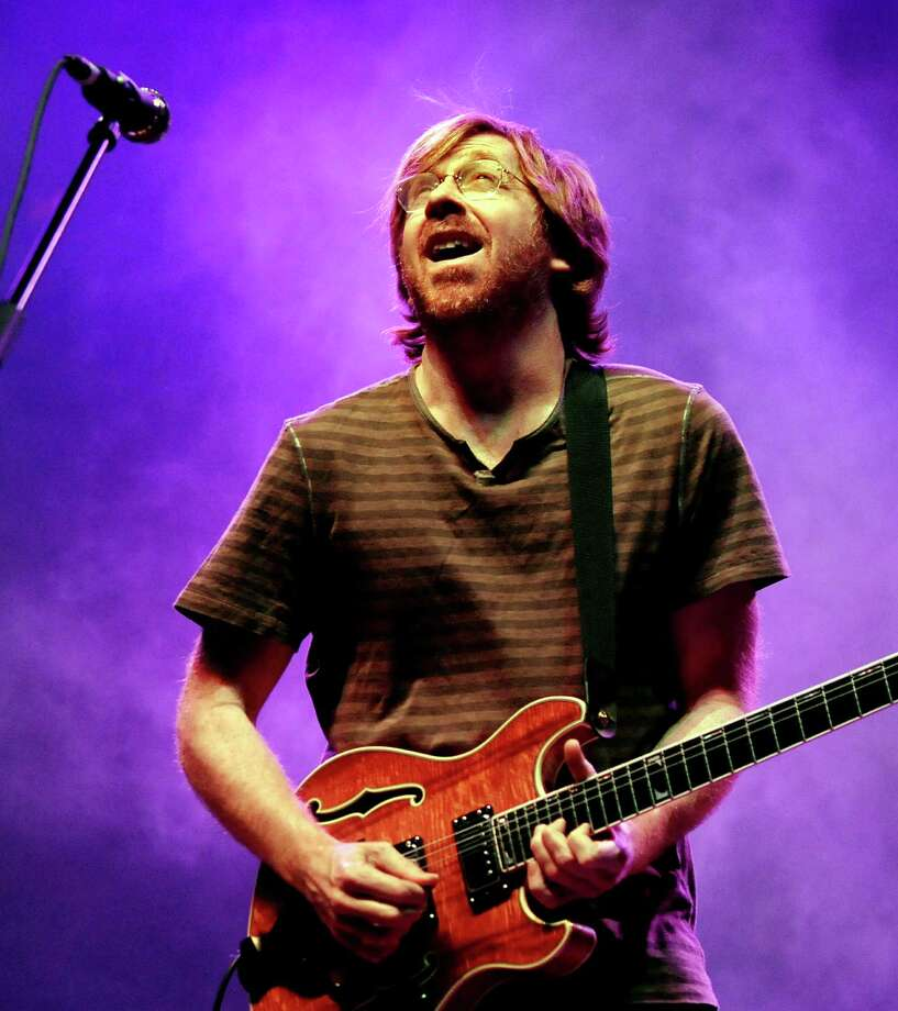 Trey Anastasio performs with Phish on Friday, Nov. 27, 2009, at the Times Union Center in Albany, N.Y. (Cindy Schultz / Times Union) Photo: CINDY SCHULTZ