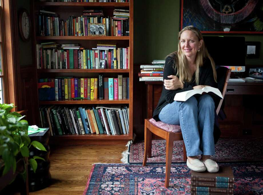 "A new series of literary salons are being presented before performances at the Westport Country Playhouse. The first one on June 13 at 6:30 will feature Nina Sankovitch who will talk about her book ""Tolstoy and the Purple Chair: A Year of Magical Reading"" about the popular book blog she created in the year after her sister died. Photo: Contributed Photo"