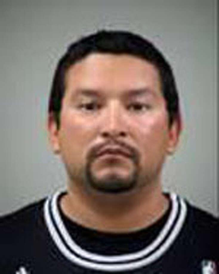 """Ariel Martinez, 32; Diana Galvan, 35, and Eloy Gonzalez, 40, were all three arrested on charges of assault with bodily injury after the brawl. The trio was released after posting $2,500 bail each, and no one was seriously injured in the fight - """"just hurt feelings,"""" said Bexar County Deputy Chief Ronald """"Dale"""" Bennett. Courtesy photo."""