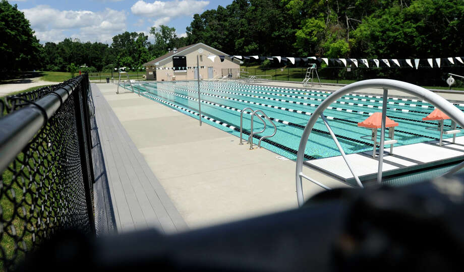 The $500,000 awarded by the state Bond Commission will allow the Greenknoll campus of the YMCA to enclose an outdoor pool at the camp. Photo: Carol Kaliff / The News-Times
