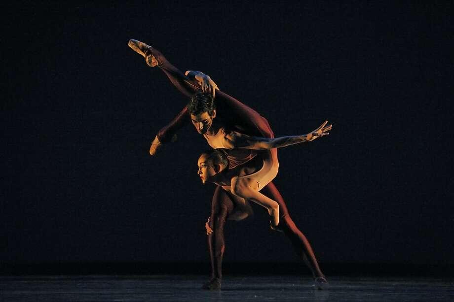San Francisco Ballet School students in Thatcher's Spinae. Photo: Erik Tomasson, SF Ballet