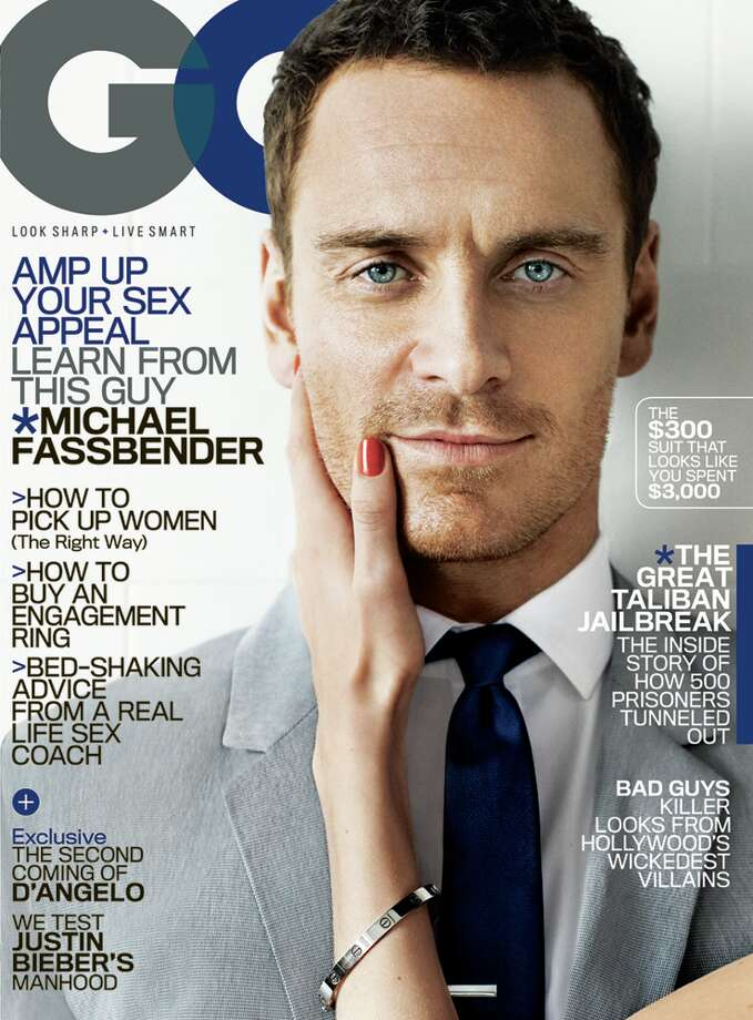 The June issue of GQ. Photo: Mario Testino/GQ
