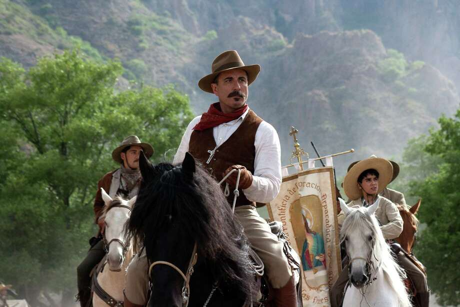 "General Enrique Gorostieta (Andy Garcia) leads Cristeros into battle in the new film, ""For Greater Glory."" Photo: ARC/Visio Entertainment"