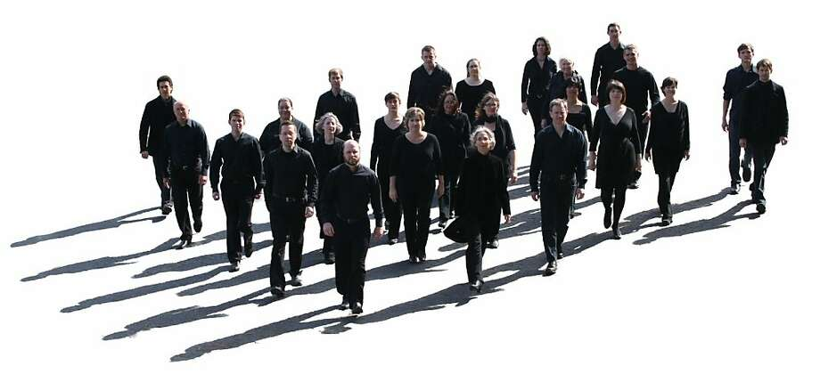 San Francisco Choral Artists will perform June 9 at St. Mark's Episcopal in Palo Alto, June 10 at St. Paul's Episcopal in Oakland and June 16 at St. Mark's Lutheran in San Francisco. Photo: Rebecca Scully