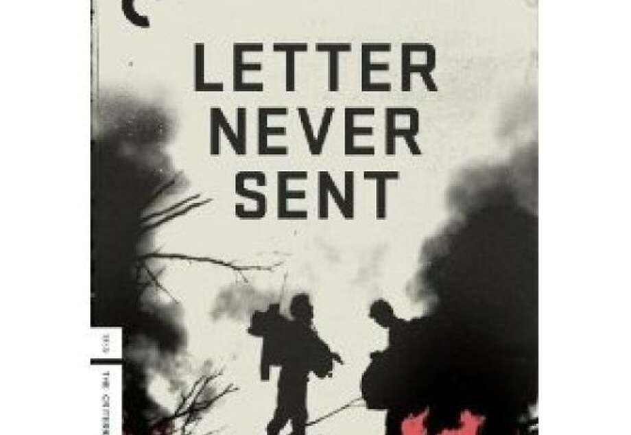 dvd cover LETTER NEVER SENT Photo: Criterion Collection, Amazon.com