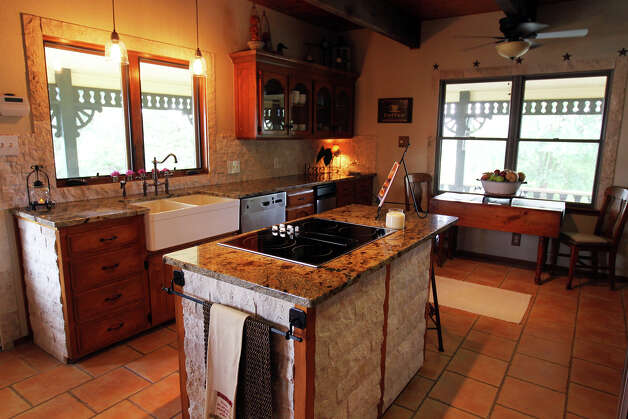 The kitchen of the Kuhn home in Boerne, Saturday, May 26, 2012. (JENNIFER WHITNEY) Photo: JENNIFER WHITNEY, Jennifer Whitney/ Special To The Express-News / special to the Express-News