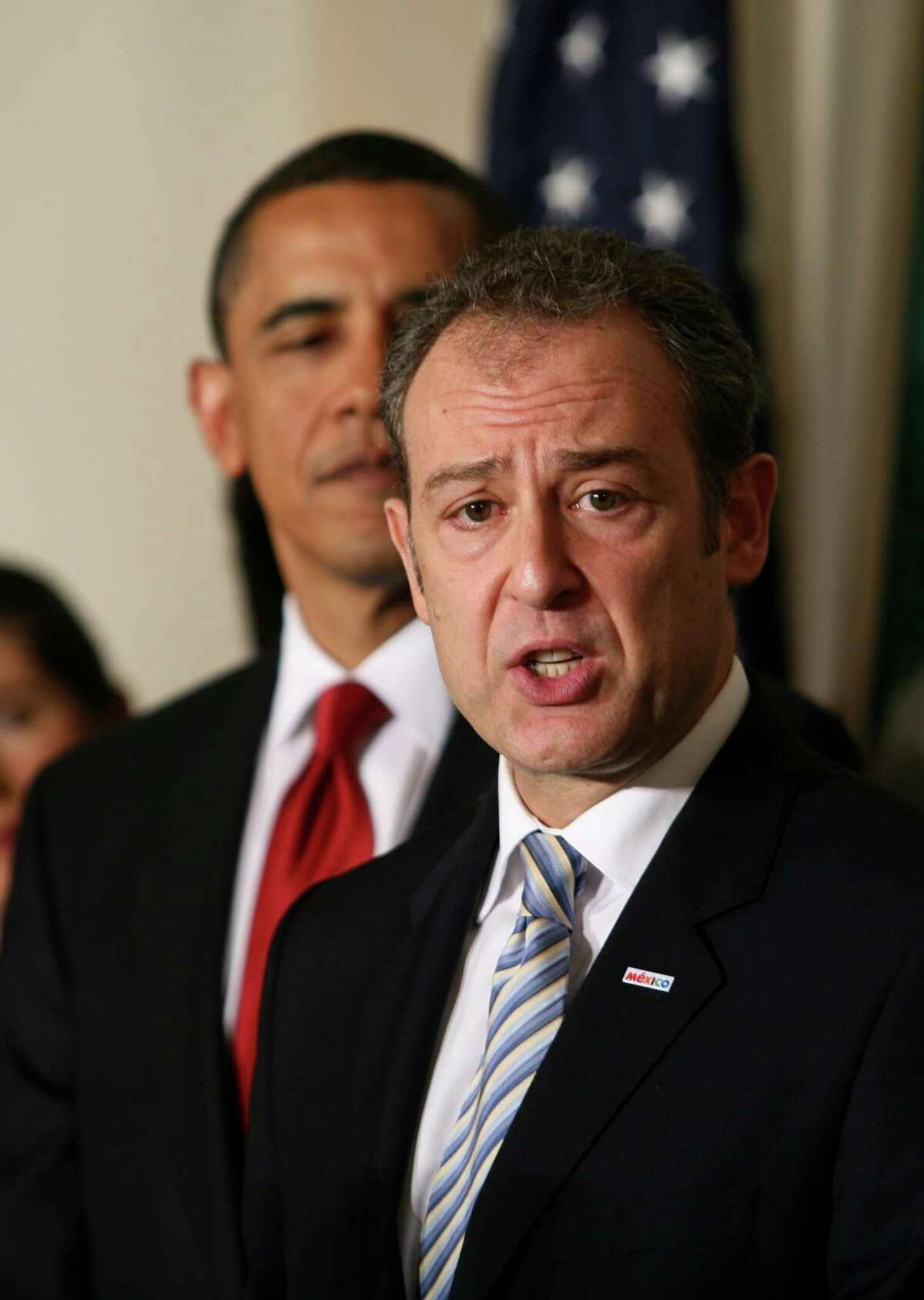 Mexican Ambassador Arturo Sarukhan is calling for tighter gun control.
