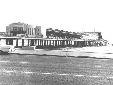 Pleasure Pier, a Galveston landmark. Bob Wood / Houston Chronicle File photo published Dec. 29, 1963. Photo: Bob Wood / Houston Chronicle