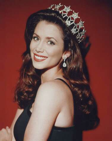 In Lee's place, Brandi Sherwood of Idaho became Miss USA 1997. She was the first from Idaho to wear the crown and the oldest, to that point, at 26. Photo: Kimo Lauer