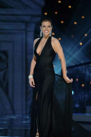 Miss USA 2005, Chelsea Cooley, hailed from Charlotte, N.C. Photo: DARREN DECKER, HO / MISS UNIVERSE L.P., LLLP