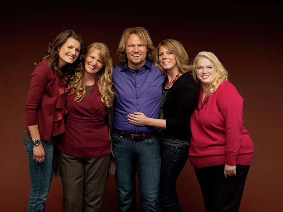 "Kody Brown stars on ""Sister Wives"" with his spouses, from left, Robyn, Christine, Meri and Janelle. Photo: George Lange / AP2010"
