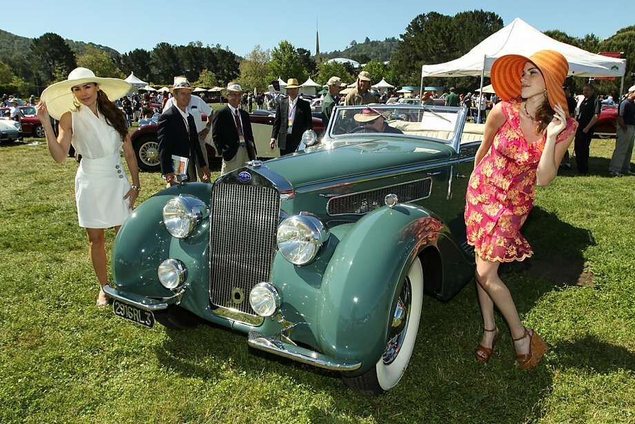 The Marin Sonoma Concours d'Elegance was held May 20, 2012. Photo: Melania Mahoney