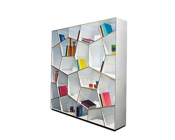 39 Bookshelf 39 By Alex Johnson Celebrates Storages Sfgate