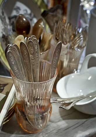 Period George Antiques on Clement St. in San Francisco, Calif.,  carries a wide variety of tableware, glassware, and flatware Photo: Russell Yip, The Chronicle