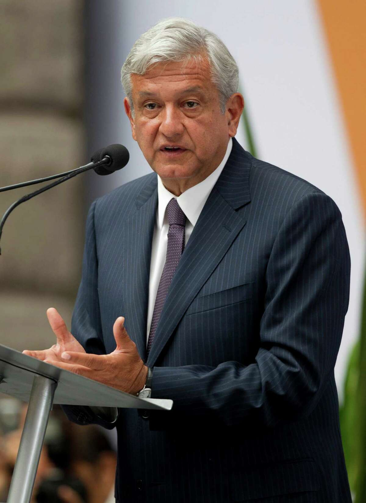 Lopez Obrador is within four points of the front-runner, according to a poll published Thursday in the newspaper Reforma.