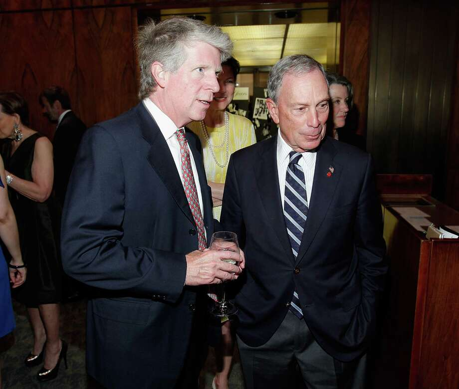 NEW YORK, NY - MAY 20:  New York District Attorney Cyrus Vance Jr. and New York Mayor Michael R. Bloomberg attend the Through The Kitchen Benefit For Cancer Research Institute at The Four Seasons Restaurant on May 20, 2012 in New York, United States.  (Photo by Jemal Countess/Getty Images) Photo: Jemal Countess / 2012 Getty Images