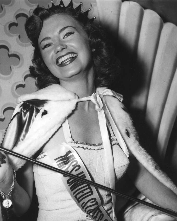 A new Miss USA will be crowned Sunday night. Seventy women have worn the crown, including one for just a few days (disqualification) and four others for less than a year because they went on to greater glories (Miss Universe). The first Miss USA was crowned in 1952; she was Jackie Loughery, 21, a 5-foot-4 redhead from Brooklyn, N.Y. The pageant was created when the Miss America pageant objected to the styles offered by a swimwear sponsor; the miffed sponsor started its own pageant and housed it in Long Beach, Calif. It simultaneously created the Miss Universe contest, which began the day after the Miss USA pageant in those early days. Photo: Miss Universe L.P.,  LLLP