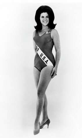 Cheryl Ann Patton, Miss USA 1967, smiles at the camera.  Originally named first runner-up to Sylvia Hitchcock, Patton was the first woman to be promoted to the title of Miss USA, which she did when Hitchcock became Miss Universe 1967. Photo: Miss Universe L.P., LLLP
