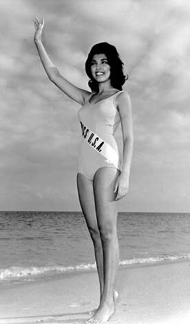 Macel Wilson, Miss USA 1962, was from Honolulu. She was the first of four women from Hawaii to have worn the crown. Photo: Miss Universe L.P., LLLP