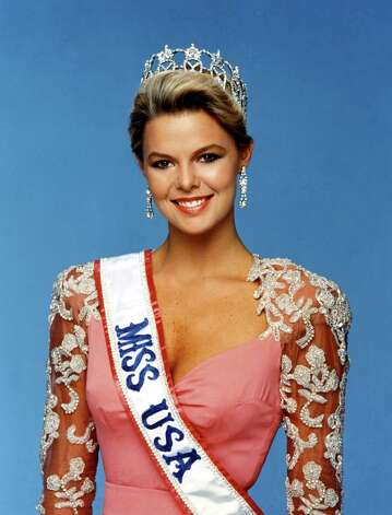 Christy Fichtner, Miss USA 1986, of Dallas. Photo: Miss Universe L.P., LLLP