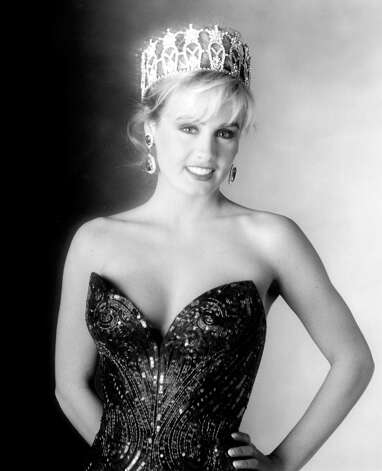 Kelli McCarty, Miss USA 1991, was the 40th Miss USA.  She was also the first and only delegate from Kansas to win the title of Miss USA. After a spotty career in acting, McCarty became the first Miss USA to star in a pornographic film, in 2008 when she was nearly 40. Photo: Miss Universe L.P., LLLP