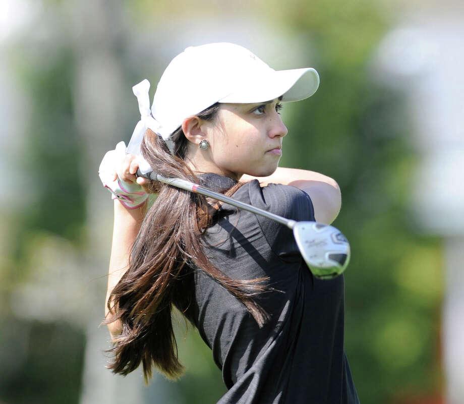 Brooke Nethercott, Greenwich girls golfer. Photo: File Photo, ST / Greenwich Citizen