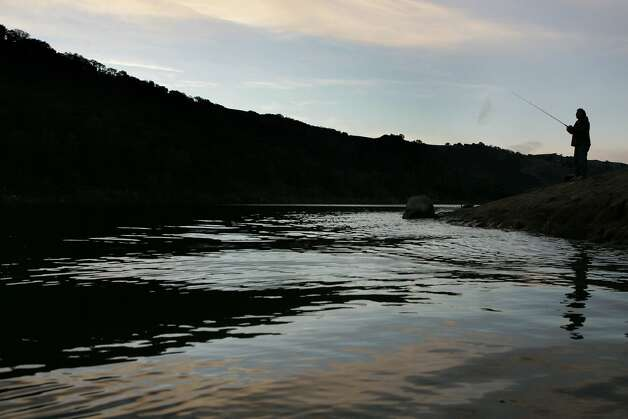 The season 39 s best campgrounds and lakes sfgate for Lake del valle fishing report