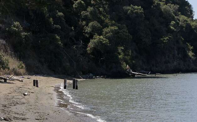 Angel Island offers its visitors beaches to relax on. Angel Island has  a variety of hiking and biking trails, historic sites, unsurpassed views, beaches and picnic spots. Photo: Michelle Terris, The Chronicle