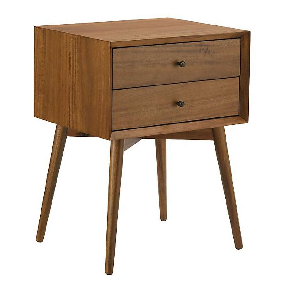 More or Less: mid century side tables Less from West Elm Photo: West Elm