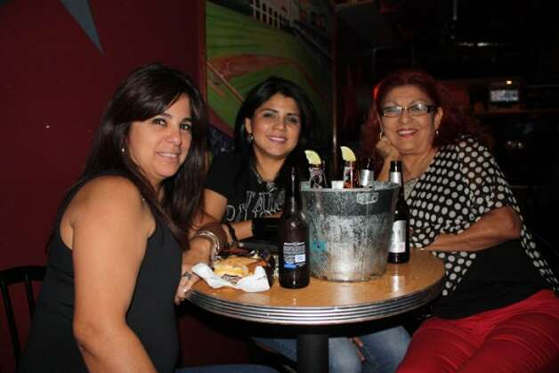 Fans gathered at the Home Plate Sports Bar and Grill Thursday night to watch the Spurs battle the Thunder during game three of the playoffs.
