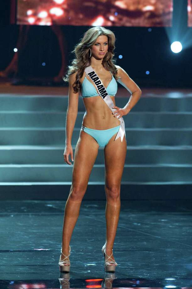 Miss Alabama USA 2012, Katherine Webb, from Phenix City, competes in her swimwear by Kooey Australia and fashion footwear by Chinese Laundry during the 2012 Miss USA Presentation Show on Wednesday, May 30 from the Planet Hollywood Resort and Casino Theatre for the Performing Arts in Las Vegas, Nevada. The 2012 MISS USA® Pageant will air LIVE on NBC June 3 at 9:00 p.m. ET from the Theatre for Performing Arts in Las Vegas. HO/Miss Universe Organization L.P., LLLP Photo: Darren Decker, Miss USA / Miss Universe Organization